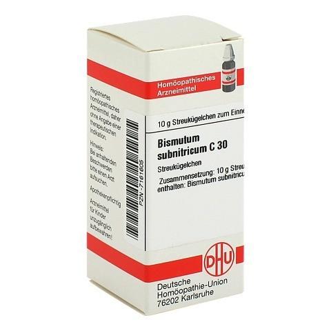 BISMUTUM SUBNITRICUM C 30 Globuli 10 Gramm N1