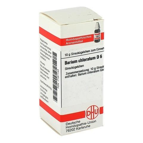 BARIUM CHLORATUM D 6 Globuli 10 Gramm N1