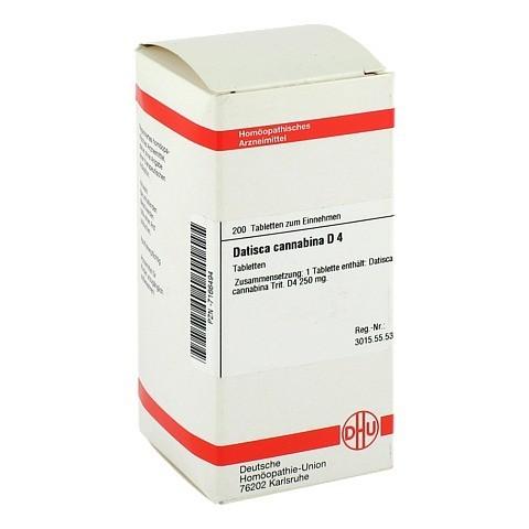 DATISCA cannabina D 4 Tabletten 200 Stück N2
