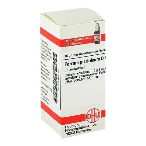 FERRUM PICRINICUM D 6 Globuli 10 Gramm N1