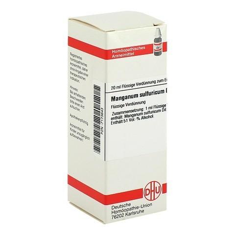 MANGANUM SULFURICUM D 6 Dilution 20 Milliliter N1