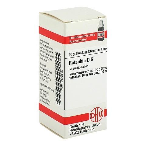 RATANHIA D 6 Globuli 10 Gramm N1