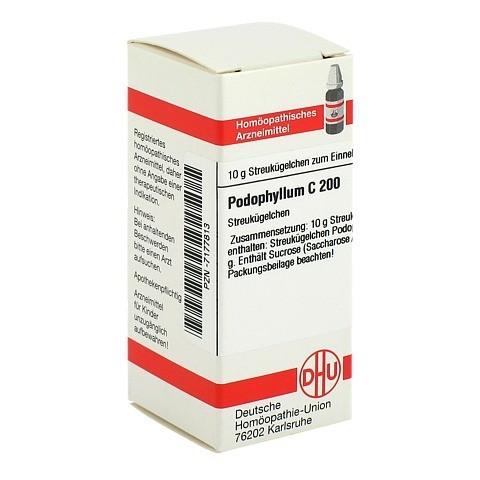 PODOPHYLLUM C 200 Globuli 10 Gramm N1