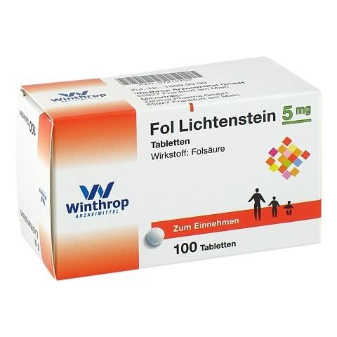 Fol Lichtenstein 5mg 100 Stück N3