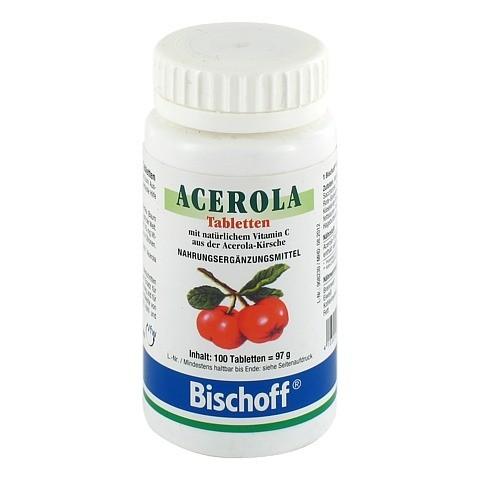 ACEROLA VITAMIN C Tabletten 100 Stück