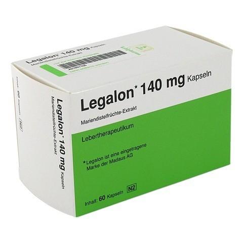 Legalon 140mg 60 Stück N2