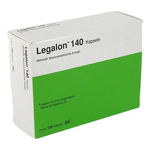 Legalon 140mg 100 Stück N3