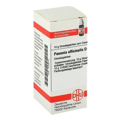 PAEONIA OFFICINALIS D 6 Globuli 10 Gramm N1