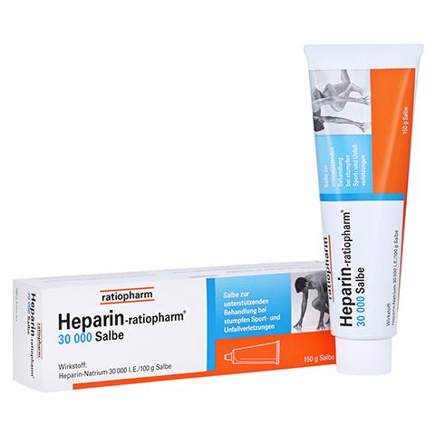 Heparin-ratiopharm 30000 150 Gramm N3