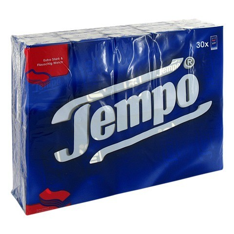 TEMPO Taschentücher ohne Menthol 30x10 Stück