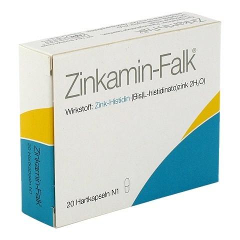 Zinkamin-Falk 15mg 20 Stück N1