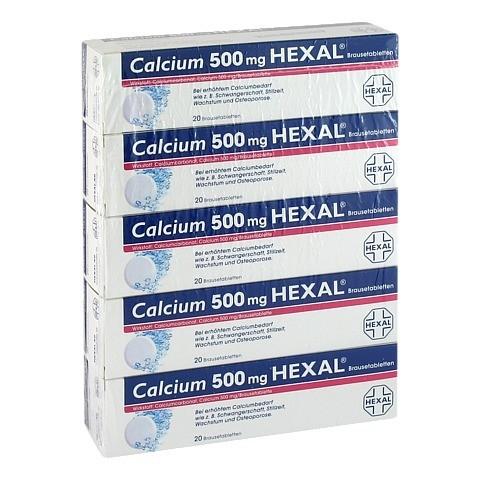 Calcium 500mg HEXAL 100 Stück N3