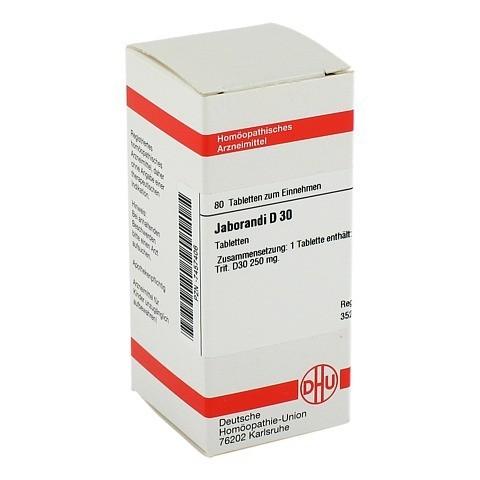 JABORANDI D 30 Tabletten 80 Stück