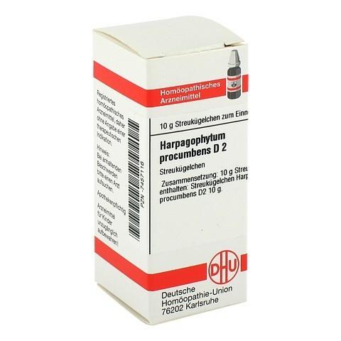 HARPAGOPHYTUM PROCUMBENS D 2 Globuli 10 Gramm N1