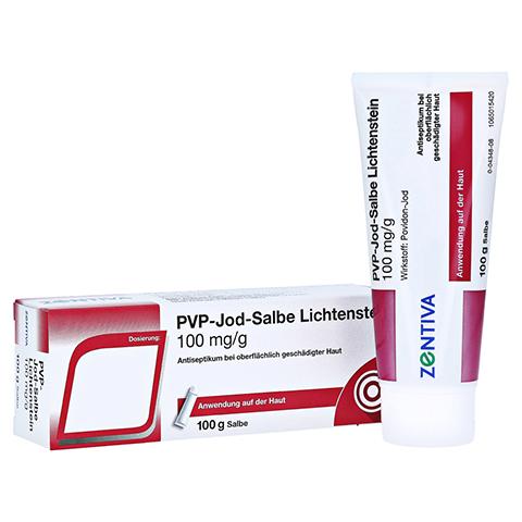 PVP JOD Salbe Lichtenstein 100 Gramm N2