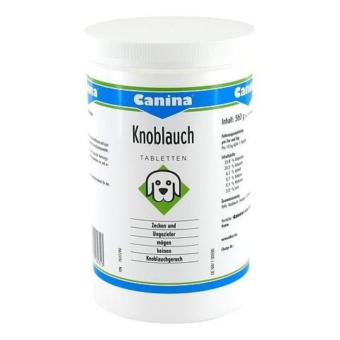 CANINA Knoblauch Tabletten f.Hunde 140 Stück