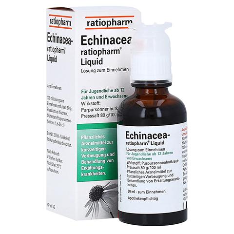Echinacea-ratiopharm Liquid 50 Milliliter N2
