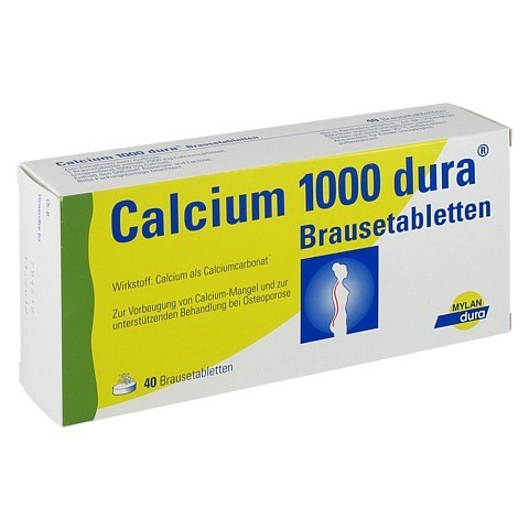 Calcium 1000 dura 40 Stück