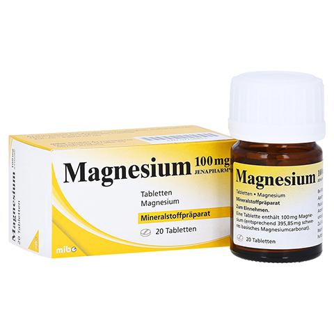 MAGNESIUM 100 mg Jenapharm Tabletten 20 Stück N1