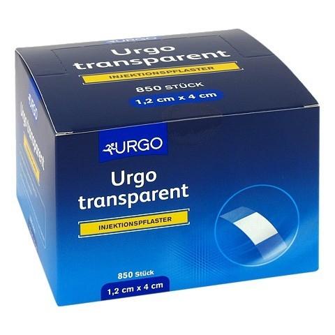 URGO TRANSPARENT Injektionspflaster 1,2x4 cm 850 Stück