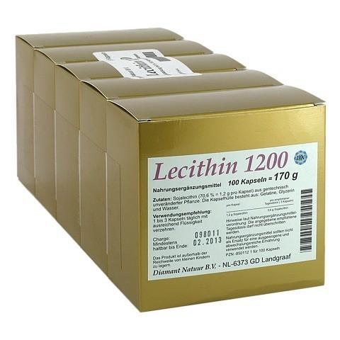 LECITHIN 1200 Kapseln 500 Stück