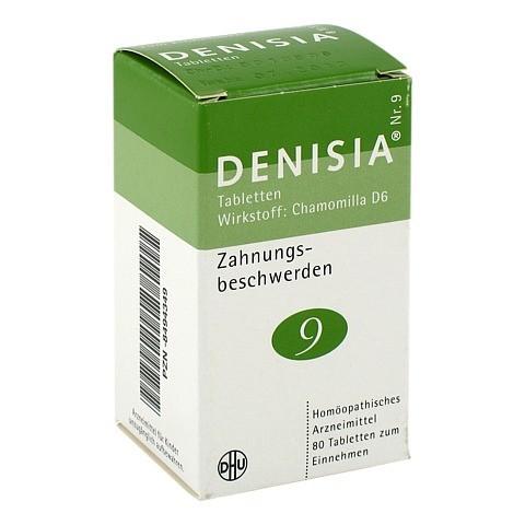 DENISIA 9 Zahnungsbeschwerden Tabletten 80 Stück N1