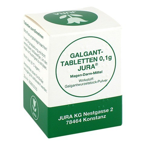 GALGANTTABLETTEN 0,1 g Jura 100 Stück