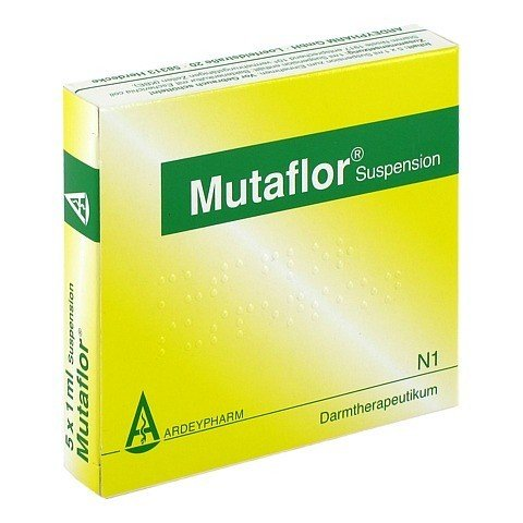 MUTAFLOR Suspension 5x1 Milliliter N1