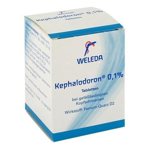 KEPHALODORON 0,1% Tabletten 250 Stück N2