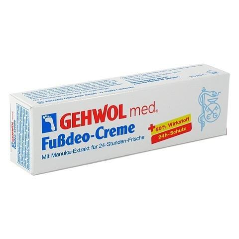GEHWOL MED Fußdeo-Creme 75 Milliliter