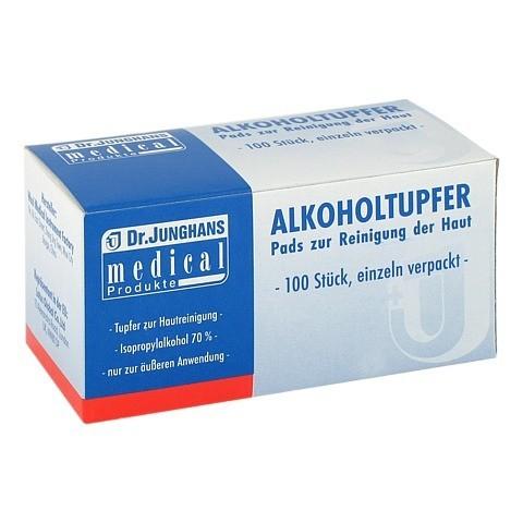 ALKOHOLTUPFER 3x6 cm steril 100 Stück