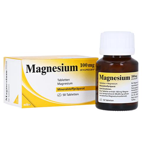 MAGNESIUM 100 mg Jenapharm Tabletten 50 Stück N2