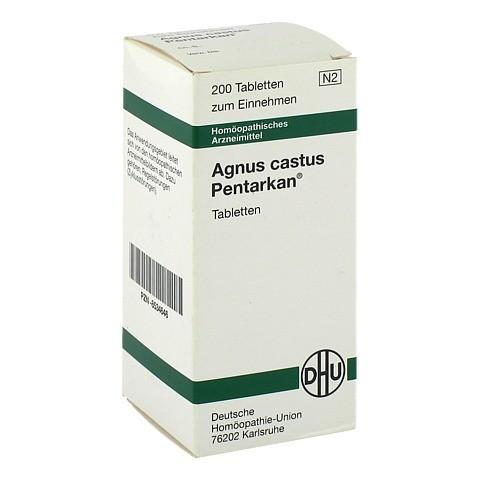 AGNUS CASTUS PENTARKAN Tabletten 200 Stück N2