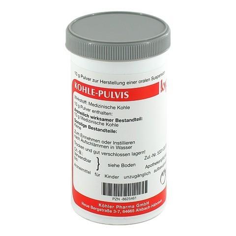Kohle-Pulvis 10 Gramm N1