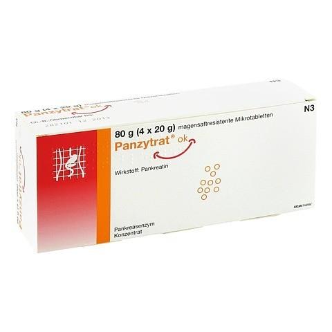 Panzytrat ok magensaftresistente Mikrotabletten 80 Gramm N3