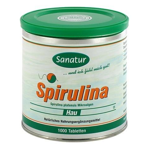 SPIRULINA HAU 400 mg Tabletten 1000 Stück