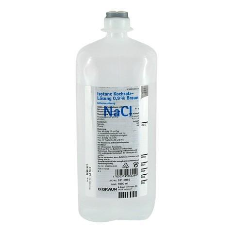 ISOTONE Kochsalz-Lösung 0,9% Braun Ecoflac Plus 1000 Milliliter N1