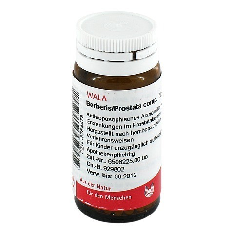 BERBERIS/PROSTATA comp.Globuli 20 Gramm N1