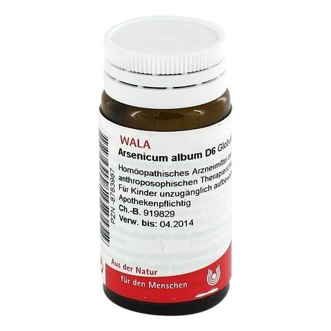 ARSENICUM ALBUM D 6 Globuli 20 Gramm N1