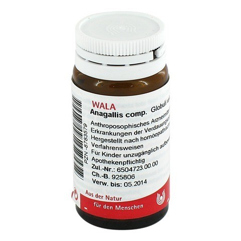 ANAGALLIS COMP.Globuli 20 Gramm N1