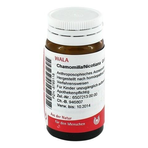 CHAMOMILLA/NICOTIANA Globuli 20 Gramm N1