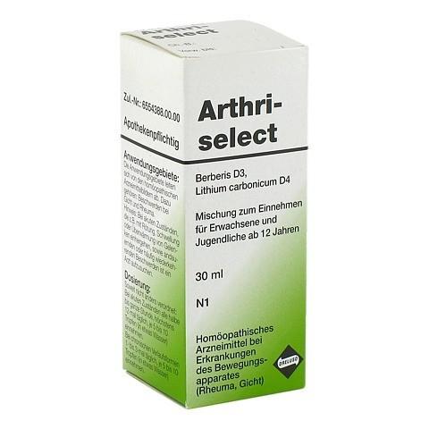 ARTHRISELECT Tropfen 30 Milliliter N1