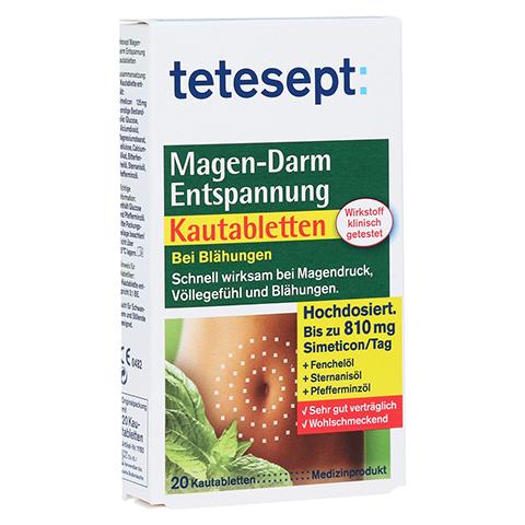 TETESEPT Magen-Darm Entspannung Kautabletten 20 Stück