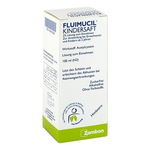 Fluimucil Kindersaft 2% 100 Milliliter N2
