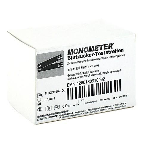 MONOMETER Teststreifen 4x25 Stück