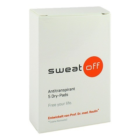SWEAT OFF Antiperspirant Dry Pads 5 Stück