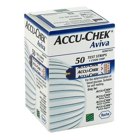 ACCU-CHEK Aviva Teststreifen Plasma II 50 Stück