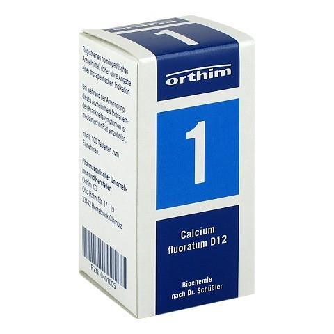 BIOCHEMIE Orthim 1 Calcium fluoratum D 12 Tabl. 100 Stück N1