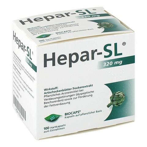 HEPAR-SL 320 mg Hartkapseln 100 Stück