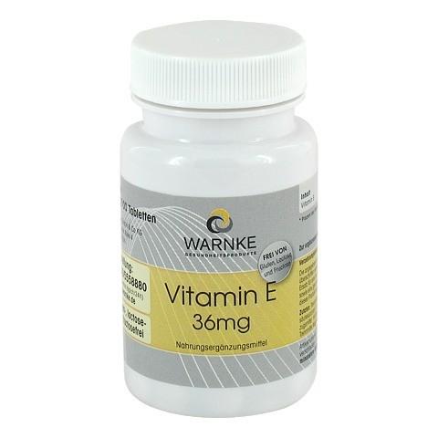 VITAMIN E 36 mg Tabletten 100 Stück